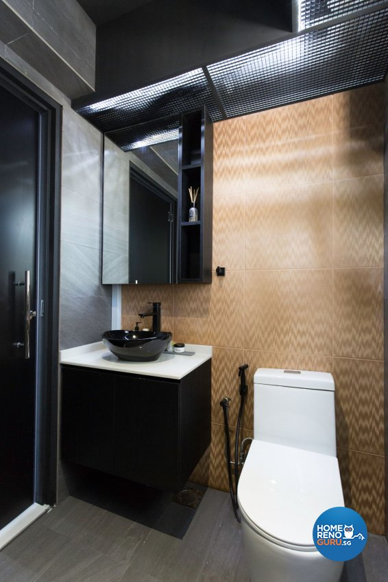 Modern Design - Bathroom - HDB 5 Room - Design by Carpenters 匠