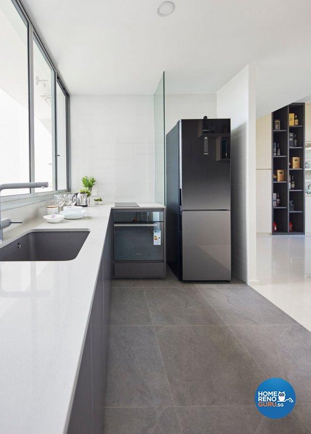 Contemporary, Scandinavian Design - Kitchen - Condominium - Design by Carpenters 匠