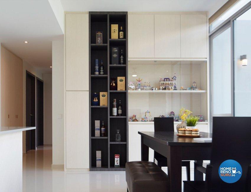 Contemporary, Scandinavian Design - Dining Room - Condominium - Design by Carpenters 匠