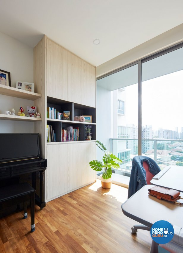 Contemporary, Scandinavian Design - Study Room - Condominium - Design by Carpenters 匠