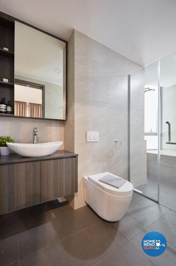 Contemporary, Scandinavian Design - Bathroom - Condominium - Design by Carpenters 匠
