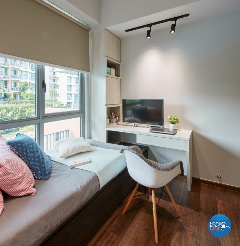Country, Modern, Scandinavian Design - Bedroom - Condominium - Design by Carpenters 匠
