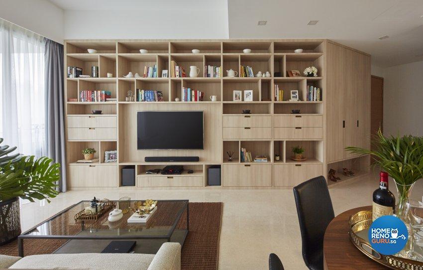 Country, Mediterranean, Tropical Design - Living Room - Condominium - Design by Carpenters 匠