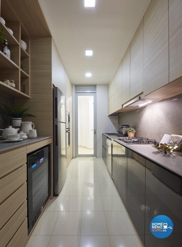 Country, Mediterranean, Tropical Design - Kitchen - Condominium - Design by Carpenters 匠