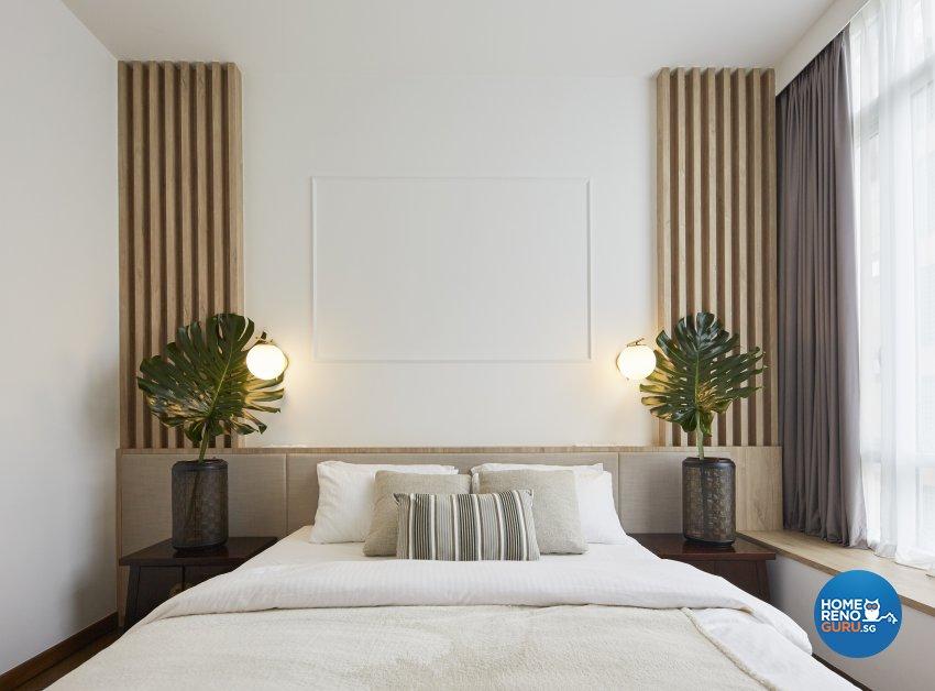Country, Mediterranean, Tropical Design - Bedroom - Condominium - Design by Carpenters 匠