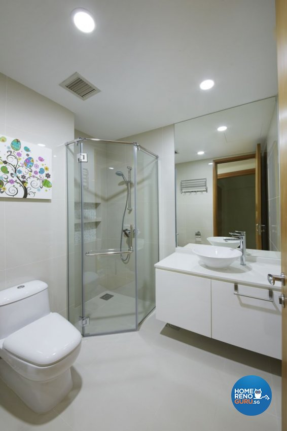 Contemporary, Modern Design - Bathroom - Condominium - Design by Carpenters 匠