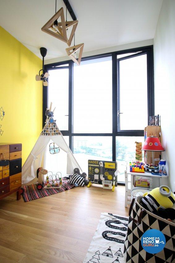Industrial Design - Bedroom - Condominium - Design by Carpenters 匠