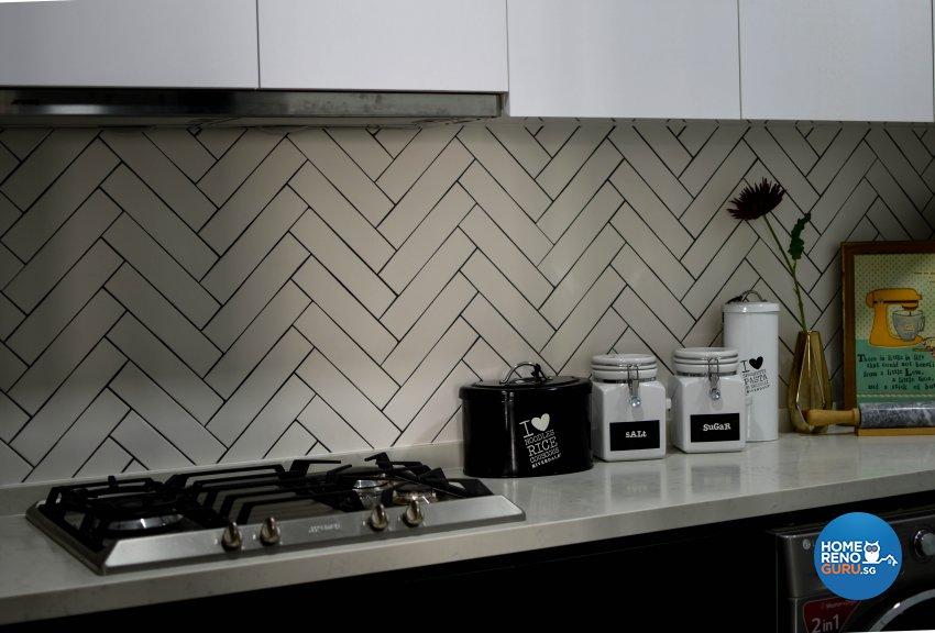 Industrial Design - Kitchen - Condominium - Design by Carpenters 匠