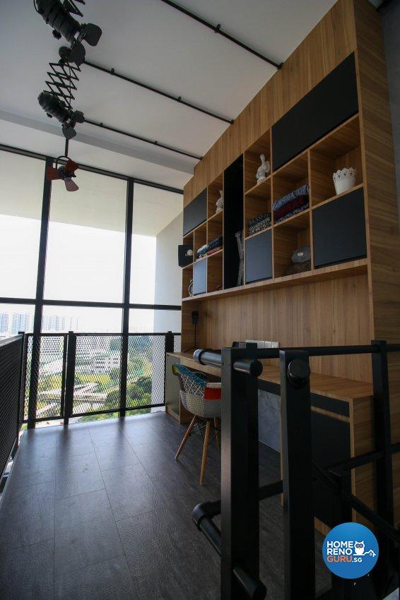Industrial Design - Study Room - Condominium - Design by Carpenters 匠