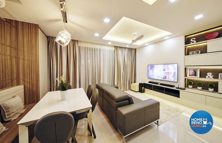 Contemporary, Modern Design - Dining Room - Condominium - Design by Carpenters 匠