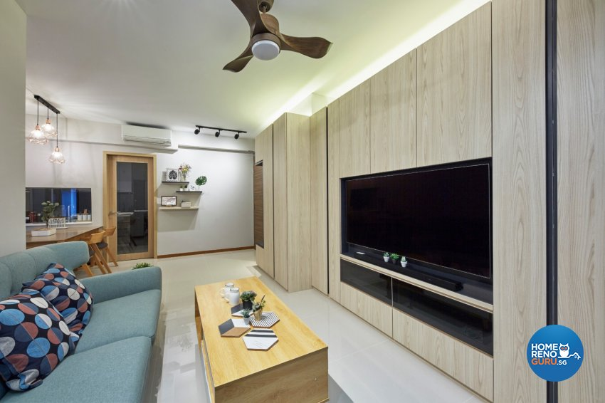 Scandinavian Design - Living Room - Condominium - Design by Carpenters 匠