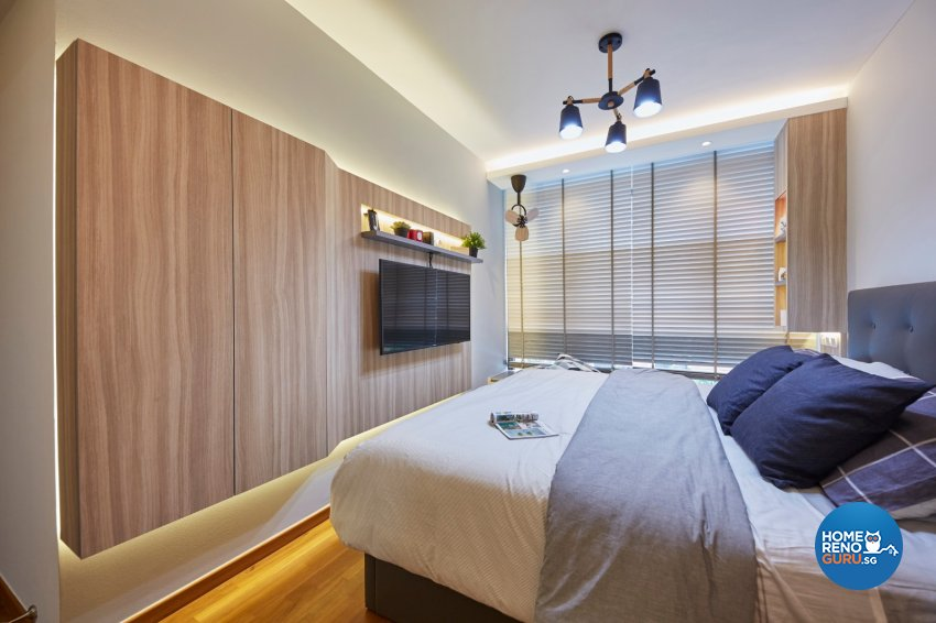 Scandinavian Design - Bedroom - Condominium - Design by Carpenters 匠