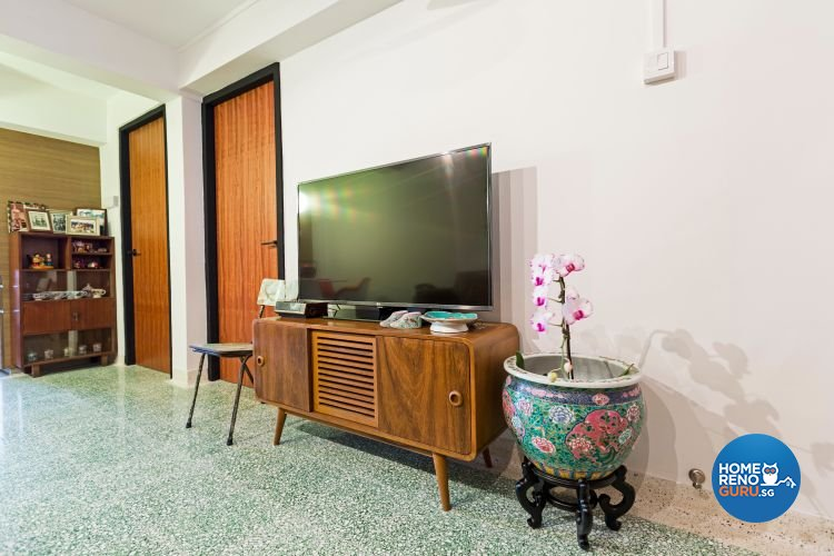 Modern, Retro Design - Living Room - HDB 3 Room - Design by Chapter B Pte Ltd