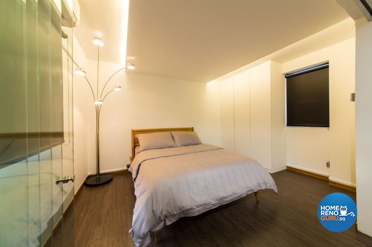 Industrial, Modern Design - Bedroom - HDB 3 Room - Design by Chapter B Pte Ltd