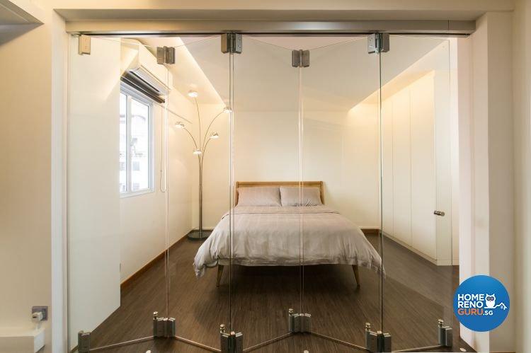Industrial, Modern Design - Bedroom - HDB 3 Room - Design by Chapter B Pte Ltd
