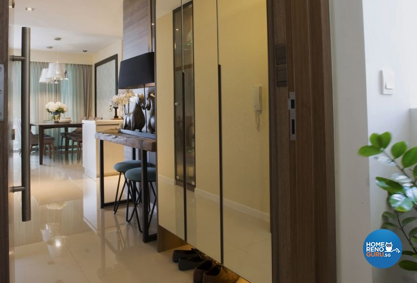 Classical, Contemporary, Modern Design - Living Room - Condominium - Design by Chapter B Pte Ltd