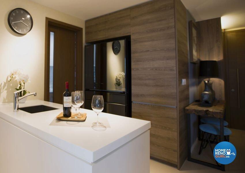 Classical, Contemporary, Modern Design - Kitchen - Condominium - Design by Chapter B Pte Ltd