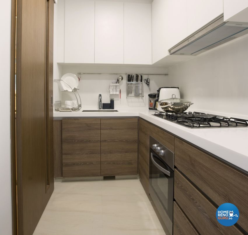 Classical, Contemporary, Modern Design - Kitchen - Condominium - Design by Chapter B Pte Ltd