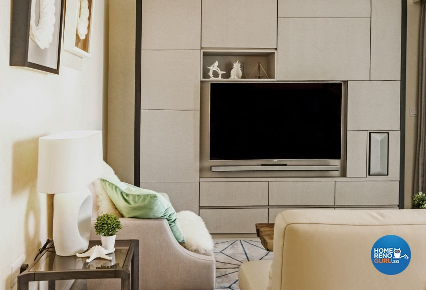 Classical, Contemporary, Modern Design - Living Room - Condominium - Design by Chapter B Pte Ltd