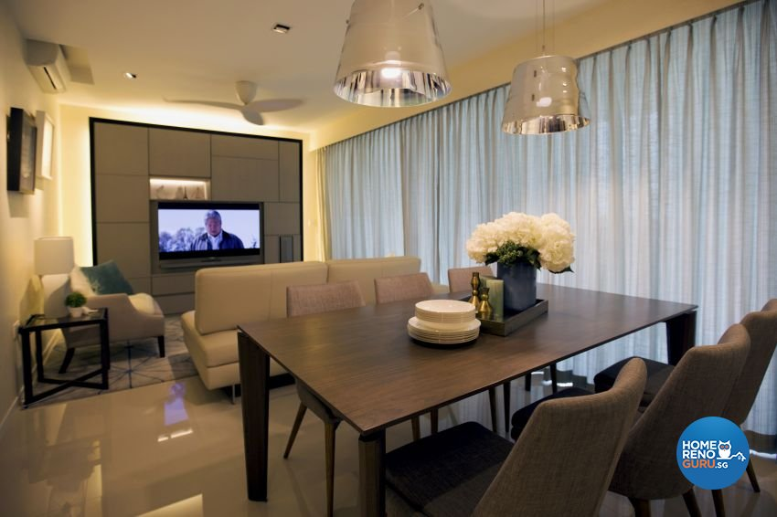 Classical, Contemporary, Modern Design - Dining Room - Condominium - Design by Chapter B Pte Ltd