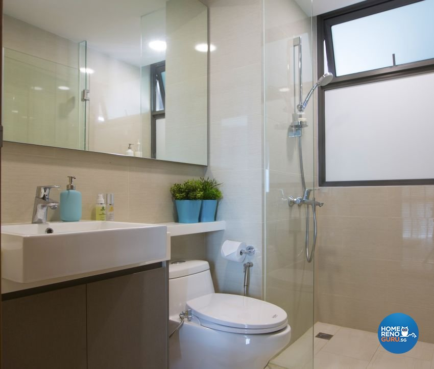 Classical, Contemporary, Modern Design - Bathroom - Condominium - Design by Chapter B Pte Ltd