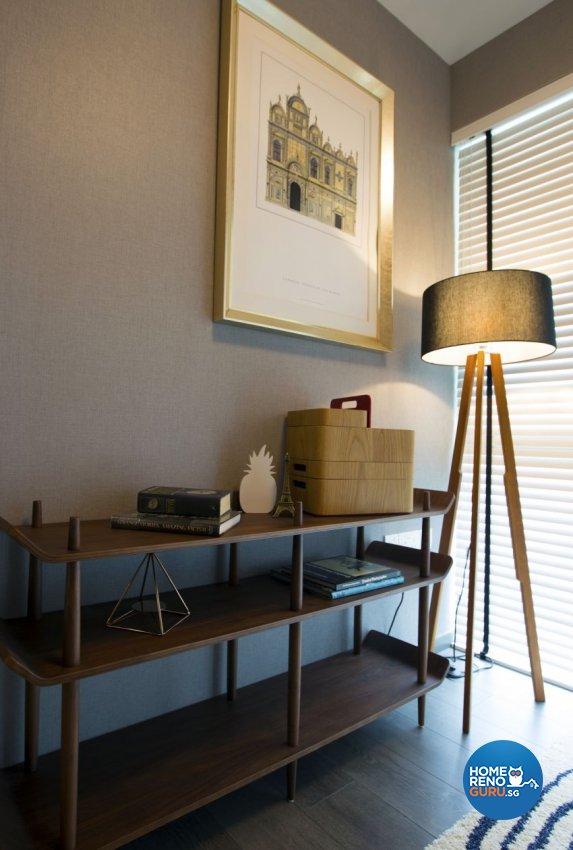 Classical, Contemporary, Modern Design - Study Room - Condominium - Design by Chapter B Pte Ltd