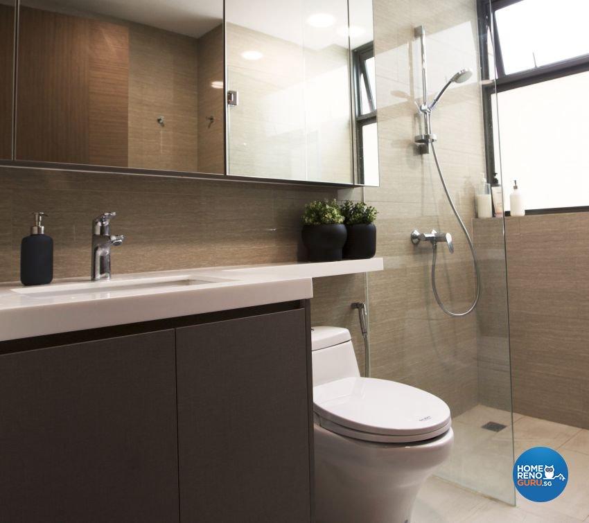 Classical, Contemporary, Modern Design - Bathroom - Condominium - Design by Chapter B Pte Ltd