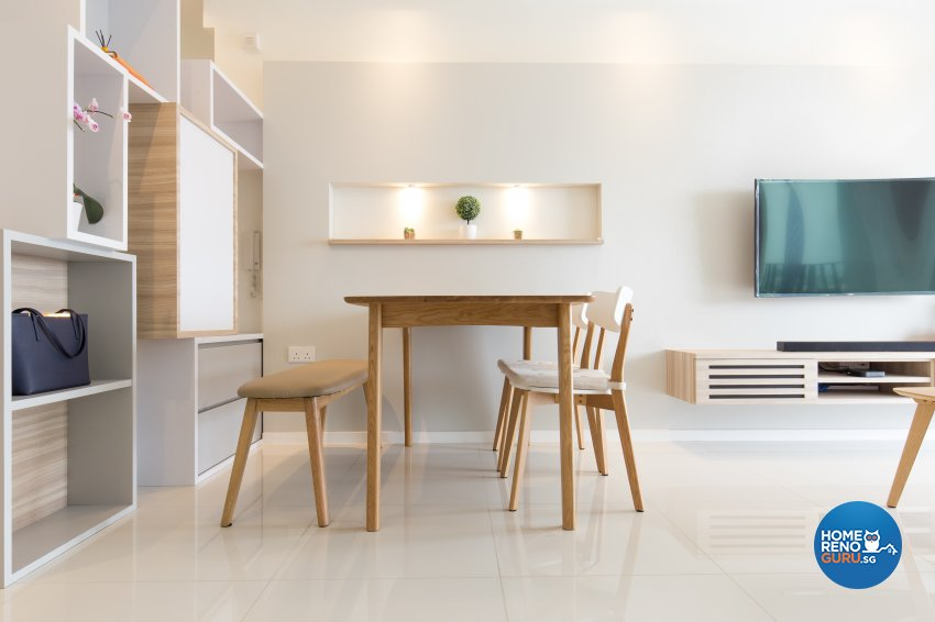 Scandinavian Design - Dining Room - Condominium - Design by Charlotte's Carpentry Pte Ltd