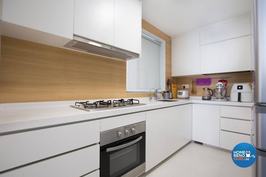 Scandinavian Design - Kitchen - Condominium - Design by Charlotte's Carpentry Pte Ltd