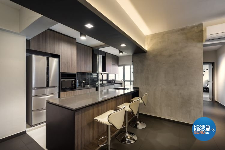 Contemporary, Modern, Scandinavian Design - Dining Room - HDB 3 Room - Design by Ciseern by designer furnishings Pte Ltd