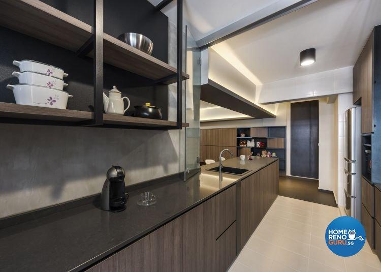 Contemporary, Modern, Scandinavian Design - Kitchen - HDB 3 Room - Design by Ciseern by designer furnishings Pte Ltd