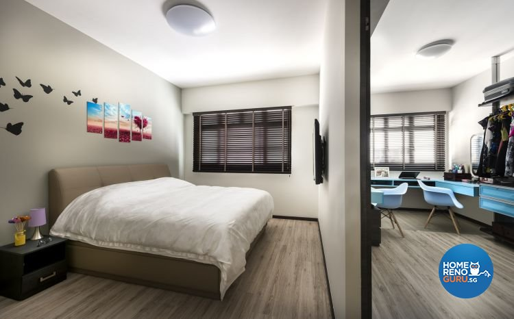 Contemporary, Modern, Scandinavian Design - Bedroom - HDB 3 Room - Design by Ciseern by designer furnishings Pte Ltd