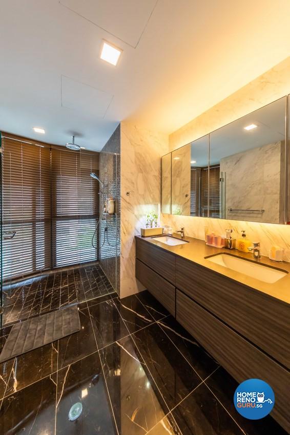Modern Design - Bathroom - Condominium - Design by Ciseern by designer furnishings Pte Ltd