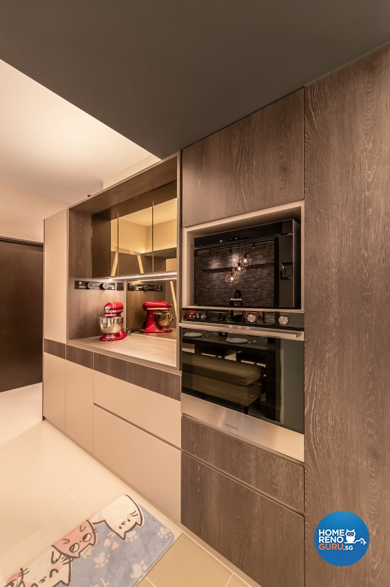 Contemporary, Modern Design - Kitchen - HDB 4 Room - Design by Ciseern by designer furnishings Pte Ltd