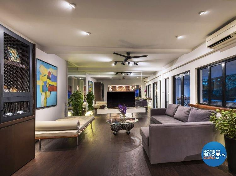Industrial, Modern Design - Living Room - Condominium - Design by Ciseern by designer furnishings Pte Ltd