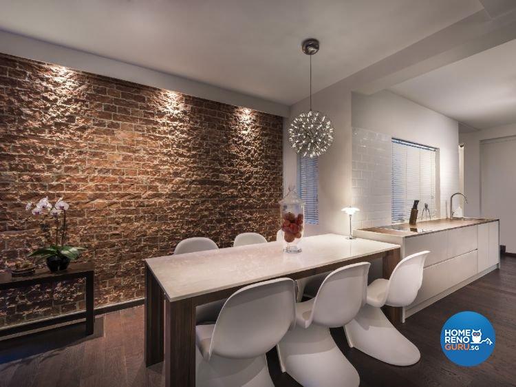 Industrial, Modern Design - Dining Room - Condominium - Design by Ciseern by designer furnishings Pte Ltd