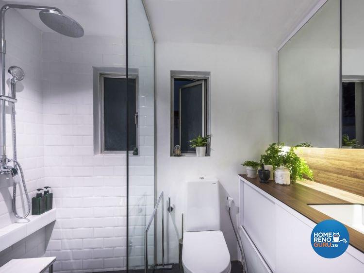 Industrial, Modern Design - Bathroom - Condominium - Design by Ciseern by designer furnishings Pte Ltd