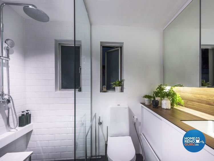 Industrial, Modern Design - Bathroom - Condominium - Design by Ciseern by designer furnishings Pte Ltd