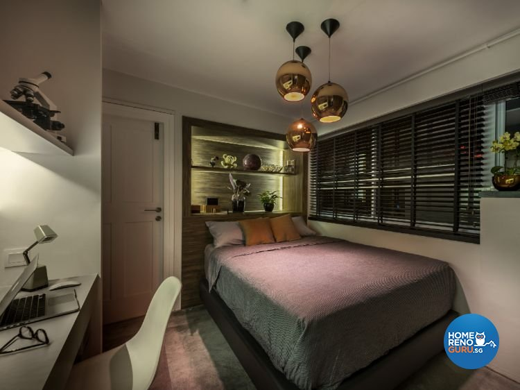Industrial, Modern Design - Bedroom - Condominium - Design by Ciseern by designer furnishings Pte Ltd