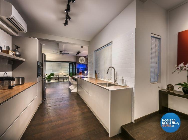 Industrial, Modern Design - Kitchen - Condominium - Design by Ciseern by designer furnishings Pte Ltd