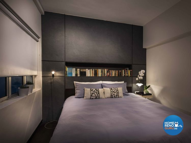 Industrial, Modern Design - Bedroom - Condominium - Design by Ciseern by designer furnishings Pte Ltd