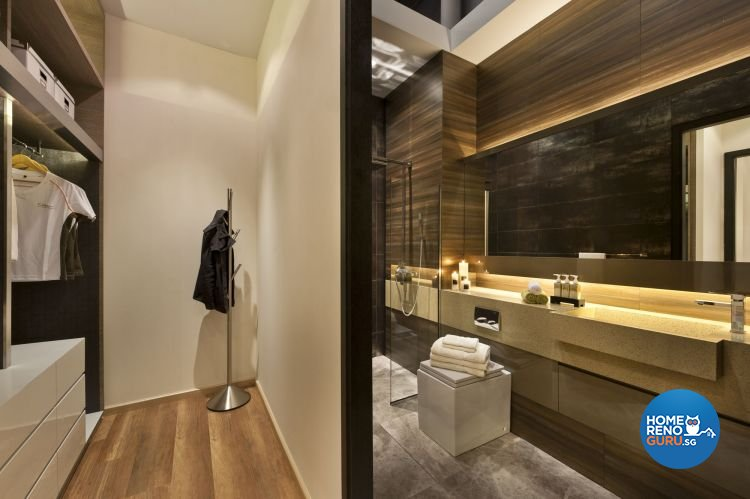 Contemporary, Minimalist, Modern Design - Bathroom - Condominium - Design by Ciseern by designer furnishings Pte Ltd