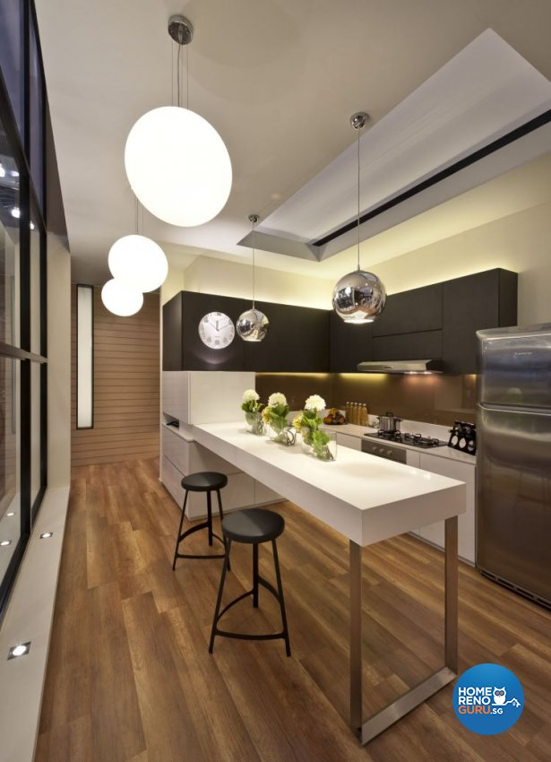 Contemporary, Minimalist, Modern Design - Dining Room - Condominium - Design by Ciseern by designer furnishings Pte Ltd