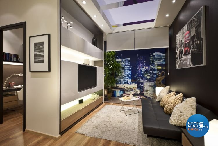 Contemporary, Minimalist, Modern Design - Living Room - Condominium - Design by Ciseern by designer furnishings Pte Ltd