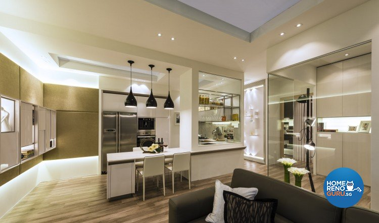 Modern Design - Kitchen -  - Design by Ciseern by designer furnishings Pte Ltd