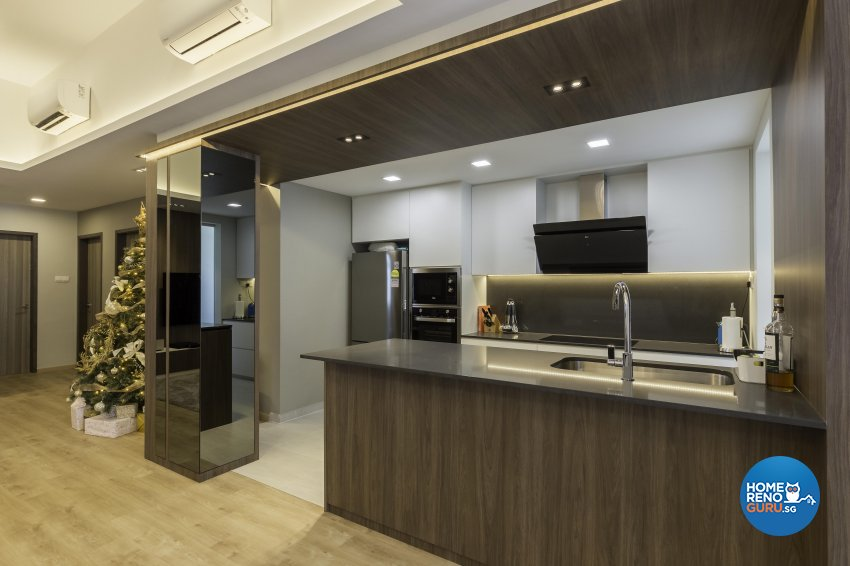 Contemporary, Modern Design - Kitchen - Condominium - Design by Ciseern by designer furnishings Pte Ltd