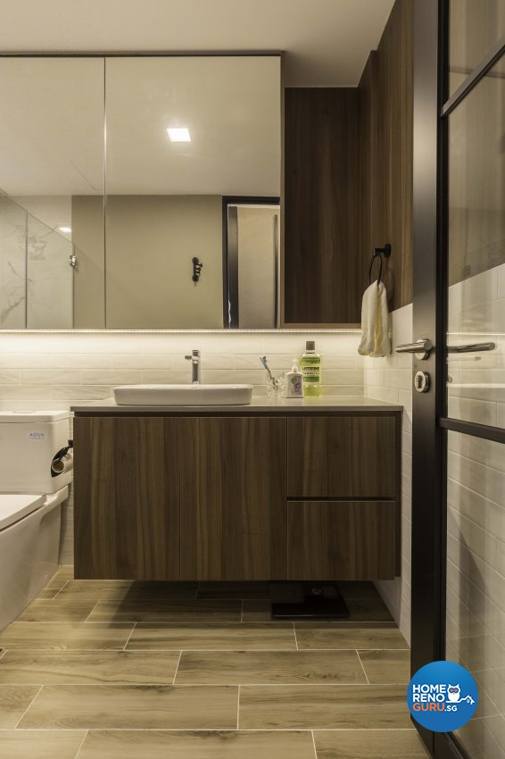 Contemporary, Modern Design - Bathroom - Condominium - Design by Ciseern by designer furnishings Pte Ltd