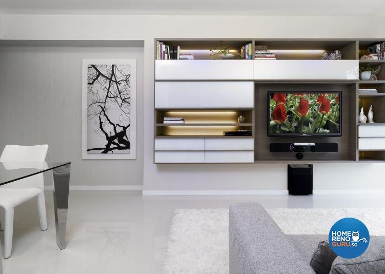 Minimalist, Modern, Scandinavian Design - Living Room - Condominium - Design by Ciseern by designer furnishings Pte Ltd