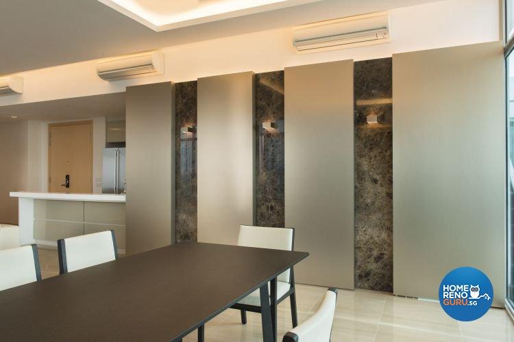 Contemporary, Modern, Scandinavian Design - Dining Room - Condominium - Design by Ciseern by designer furnishings Pte Ltd
