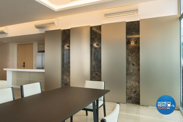 Contemporary, Modern, Scandinavian Design - Dining Room - Condominium - Design by Ciseern by designer furnishings Pte Ltd